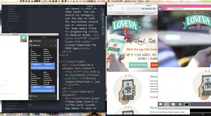 How Ghostlab makes my life easier